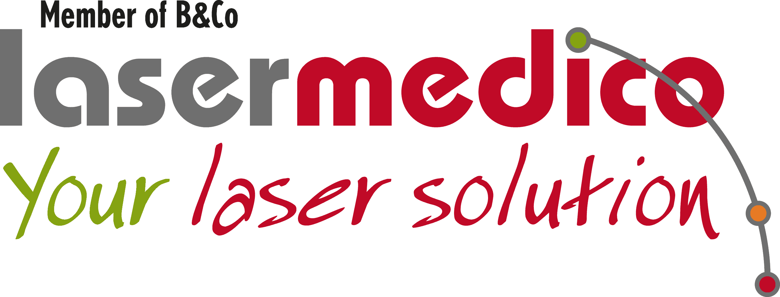 Lasermedico Your laser solution logo